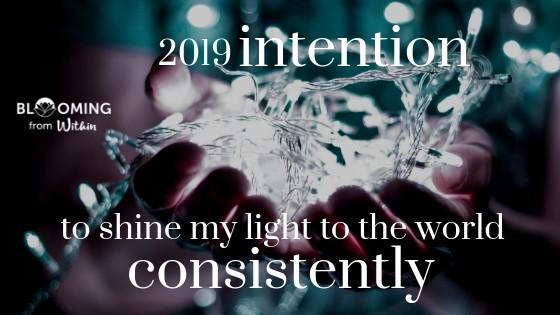 2019 Intention