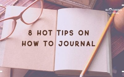 8 Hot Tips How To Journal
